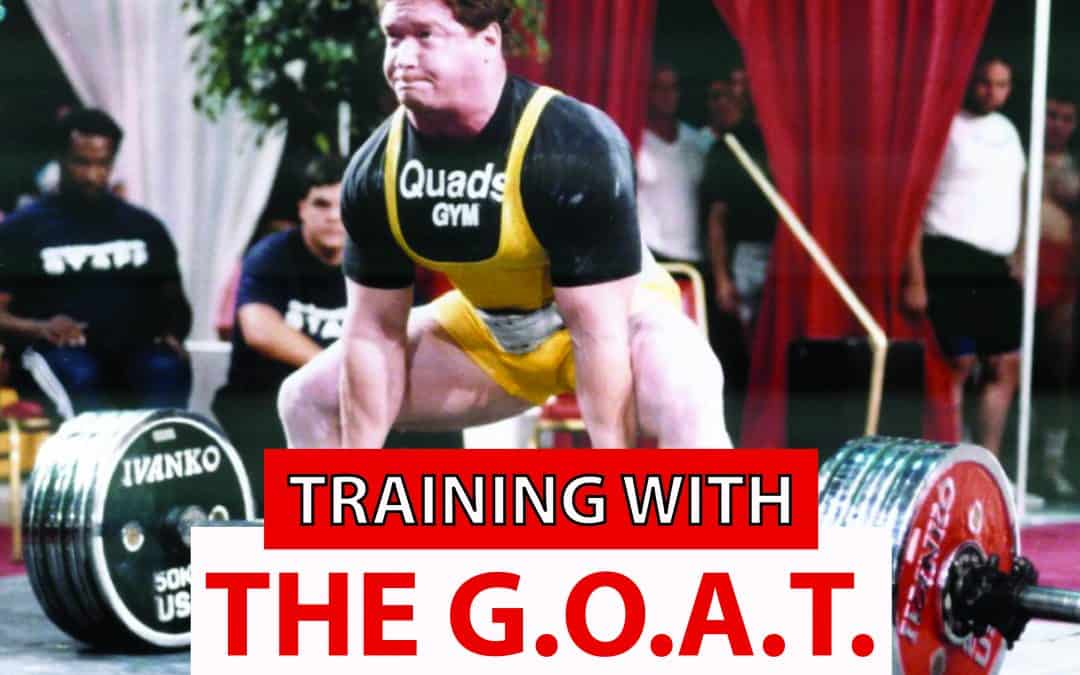 Training With The G.O.A.T. Nov 9th